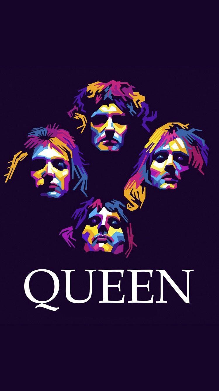 Queen Band iPhone Wallpapers 750x1334