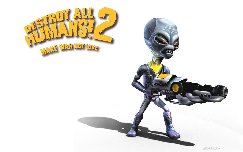 Destroy All Humans 2   PS2 Wallpaper 1440x900