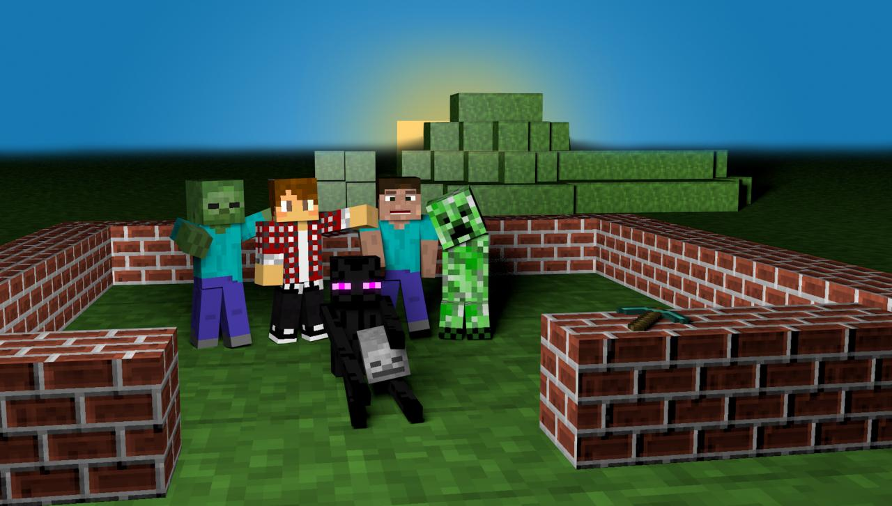 PC Backgrounds Minecraft   HD Wallpapers 1280x727