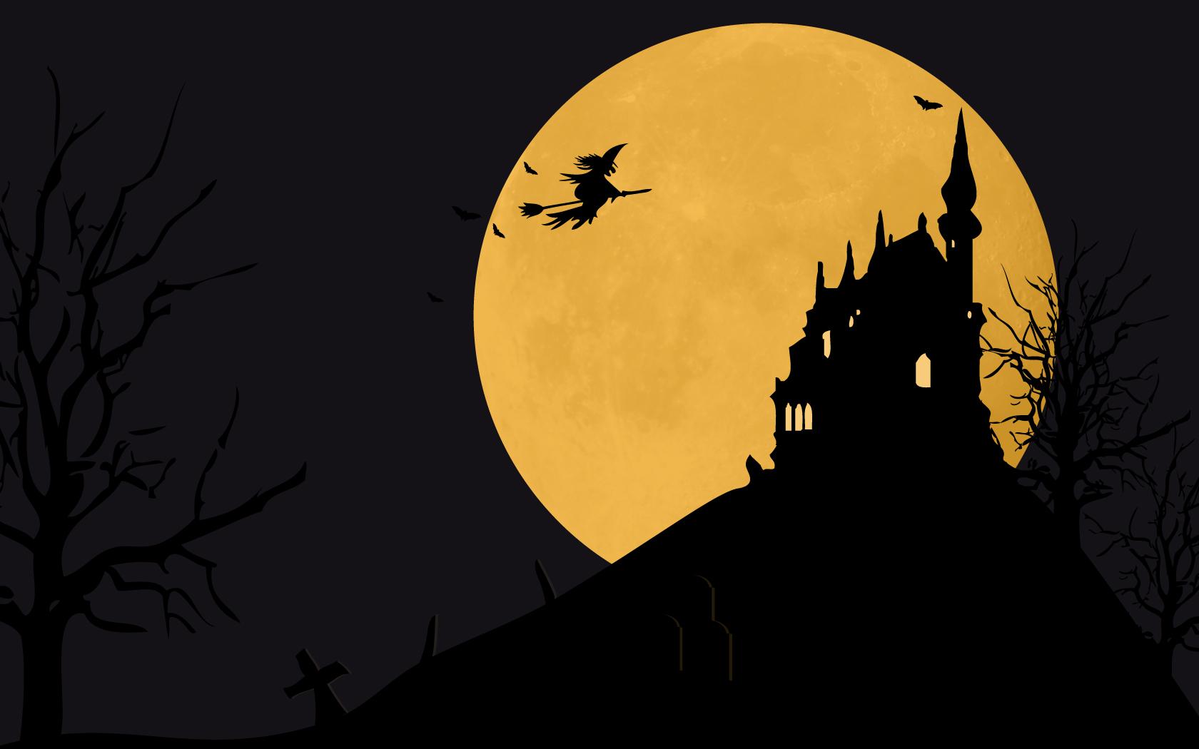 Halloween Witch Wallpaper Desktop - WallpaperSafari