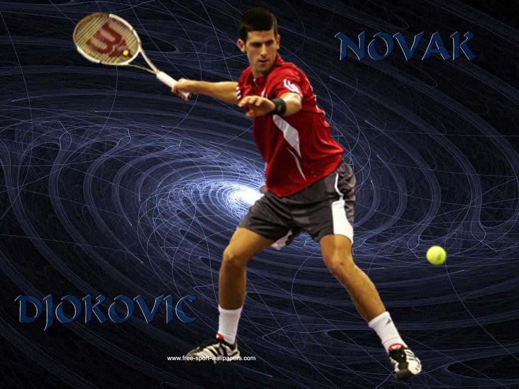 TENNIS Novak Djokovic Wallpapers 1024x768