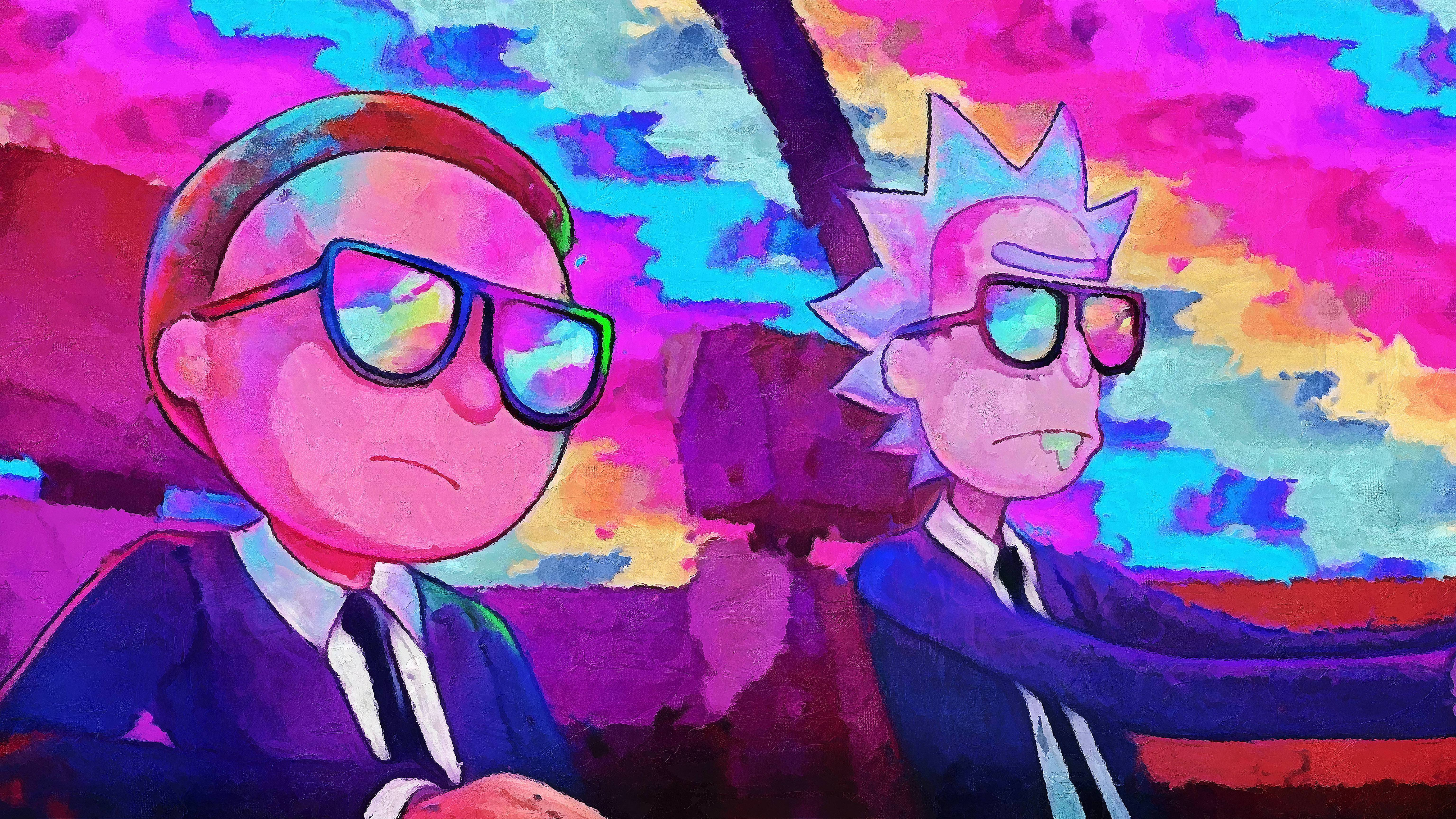 Rick And Morty Wallpaper 4k   WallpaperHDwiki 6144x3456
