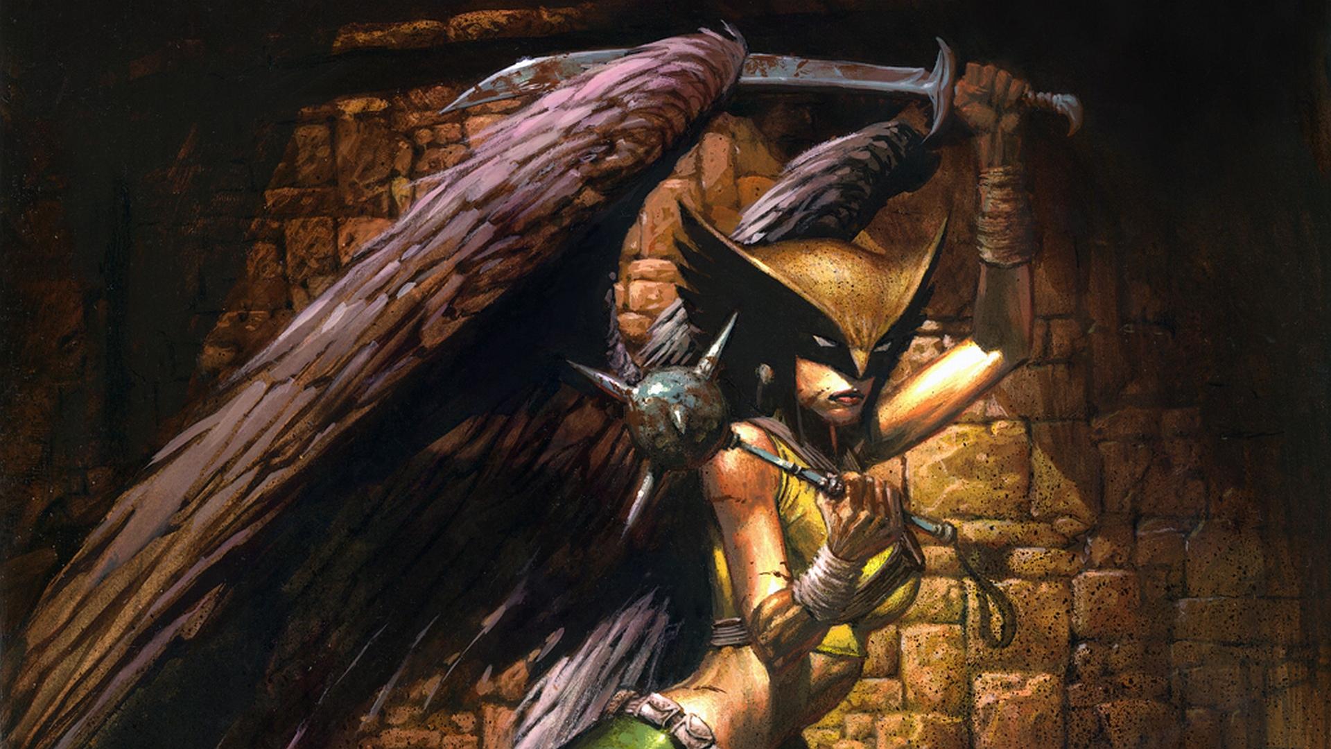 Comics   Hawkgirl Hawkman Wallpaper 1920x1080