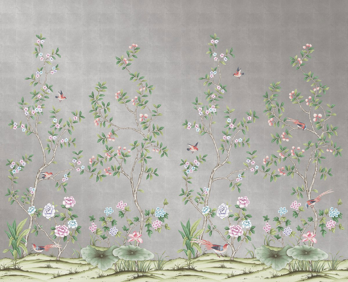 Affordable Temporary Chinoiserie Wallpaper   Vogue 1200x972