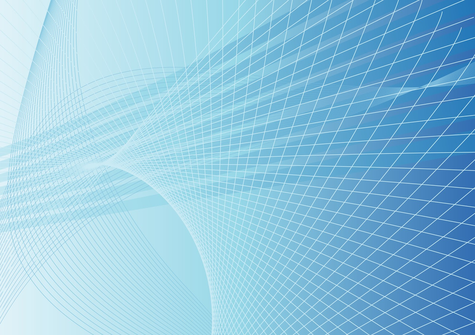 Abstract blue vector background with waves by 123freevectors 1600x1129