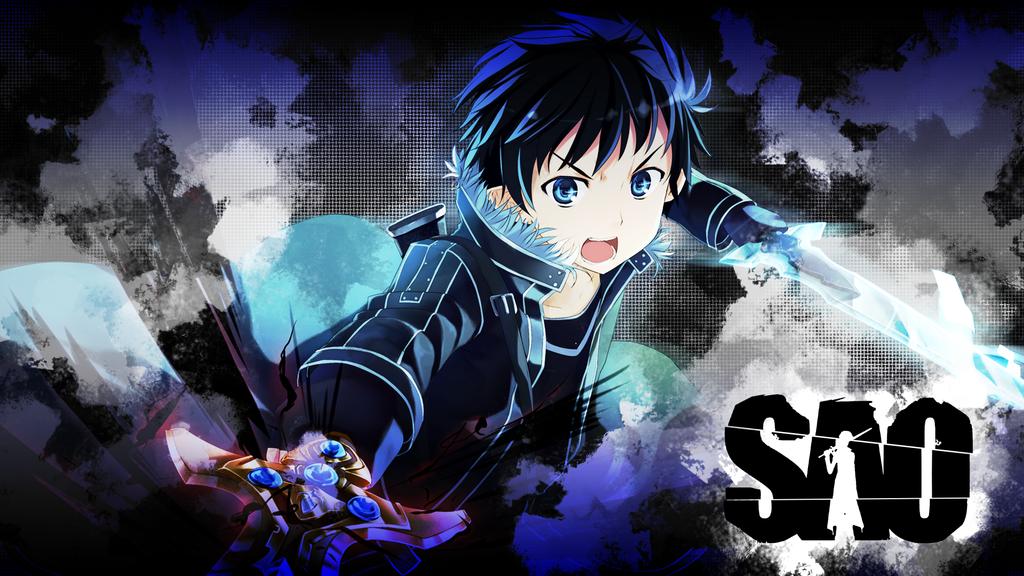 SAO Kirito Wallpaper HD - WallpaperSafari Sword Art Online Wallpaper 1920x1080 Kirito And Asuna