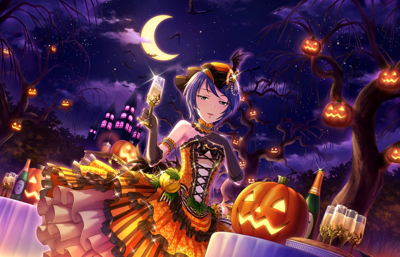 Free Download Anime Halloween Wallpaper HD