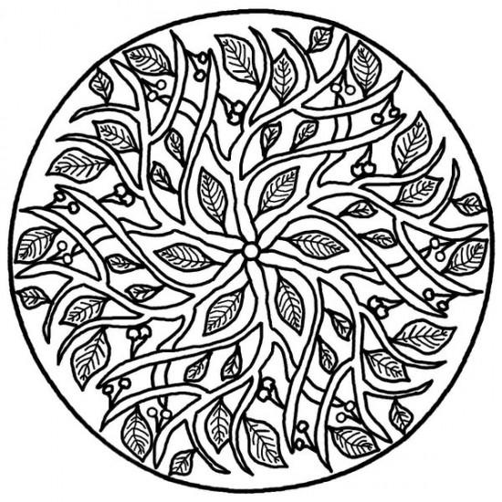 Mandala Coloring Wallpaper WallpaperSafari – Art Therapy Worksheets
