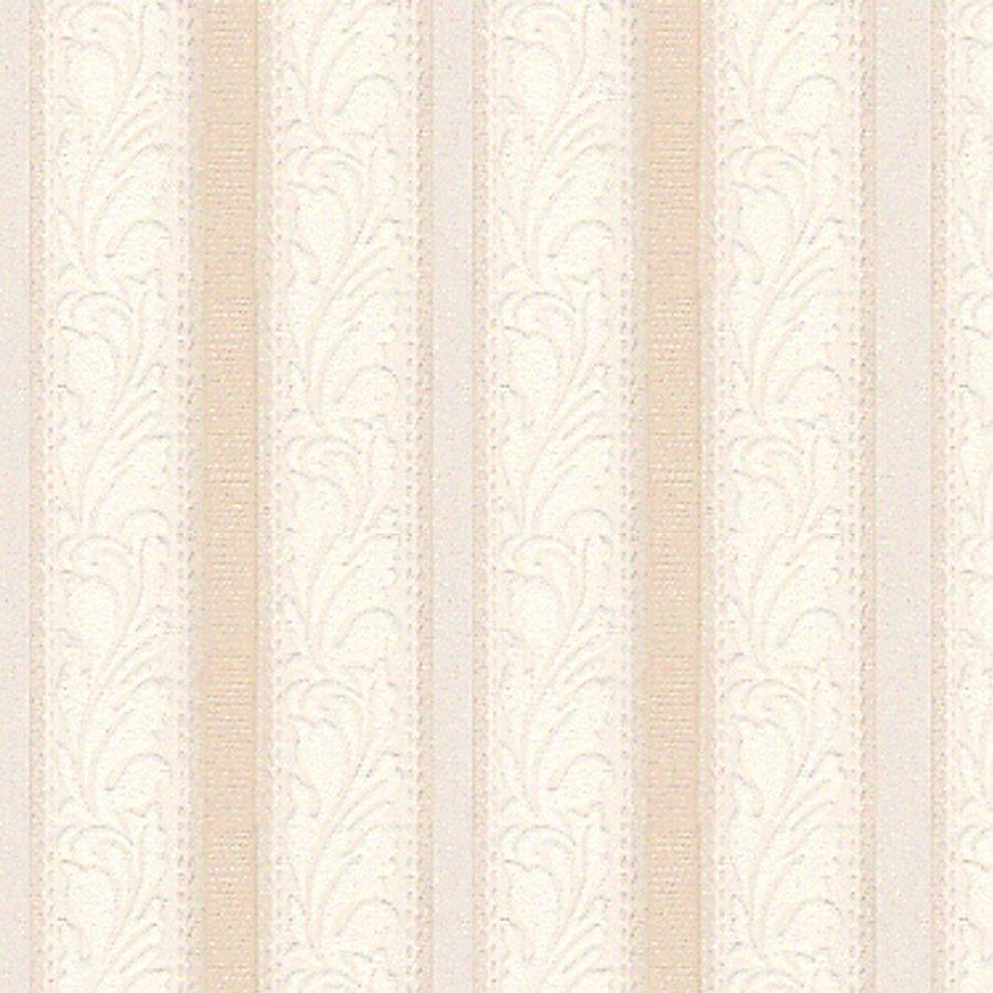 15104 BeigeWhite Leaf Stripe Texture Wallpaper Lowes Canada 900x900