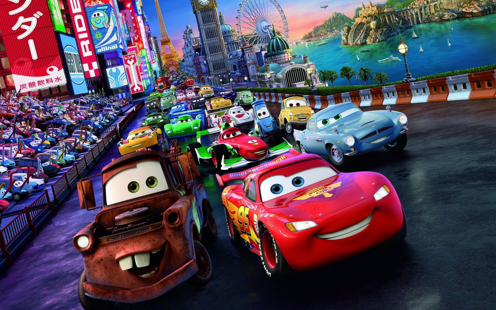 de Pixar Gleen McQueen quien falleci de cncer de piel en 2002 1600x1000