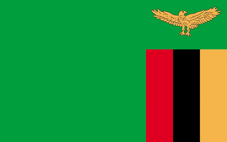 Photos Zambia Flag 2880x1800 2880x1800