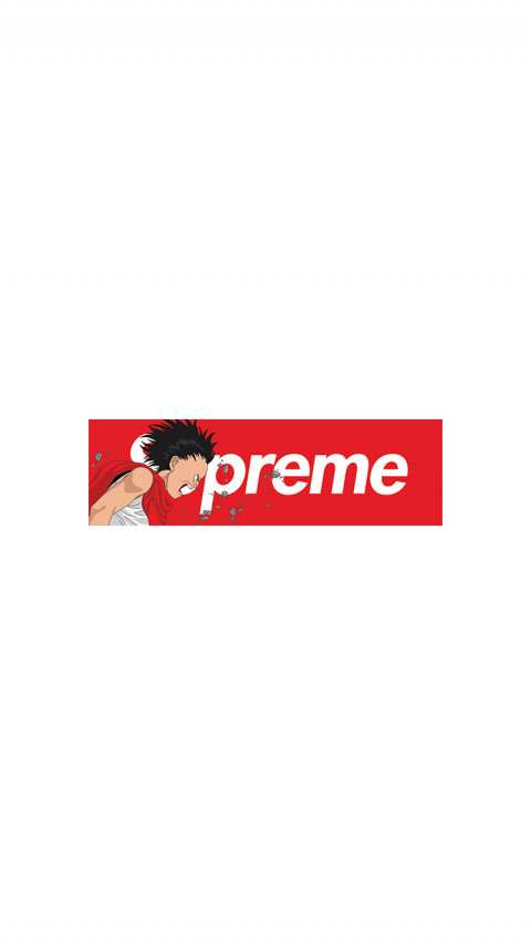 Supreme x Akira iPhone Wallpapers Download Here 480x854