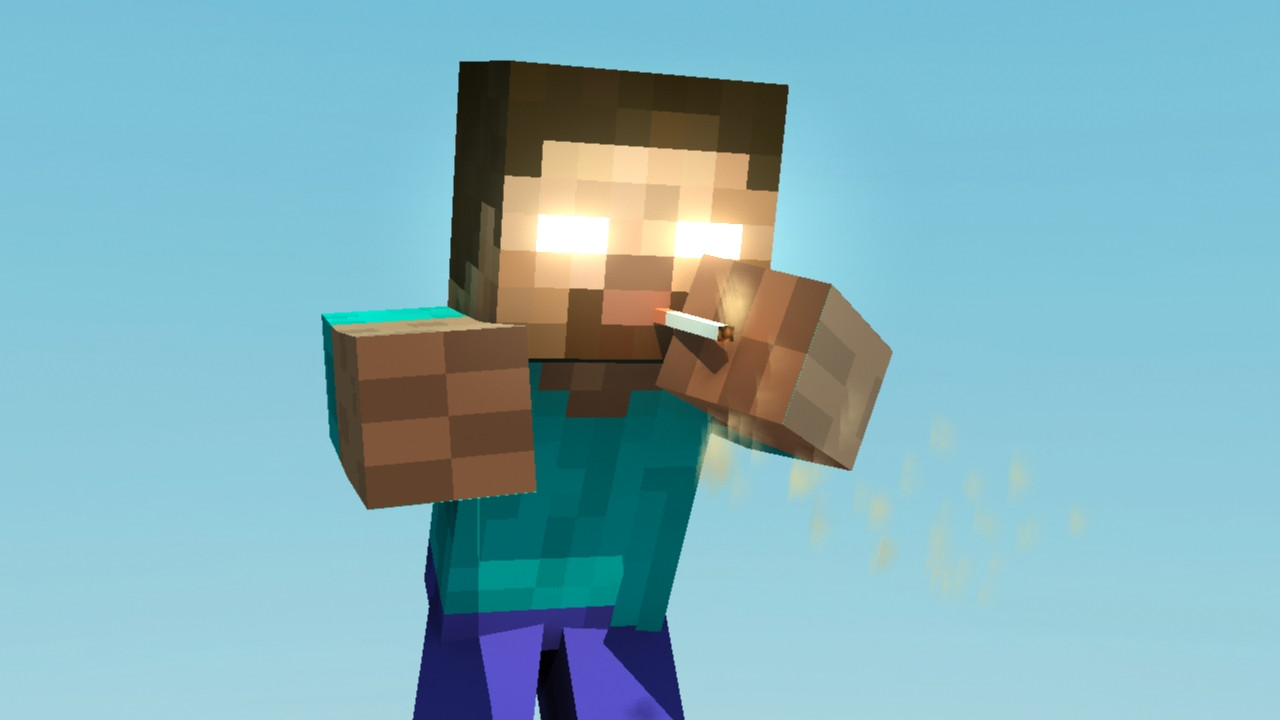 Herobrine Minecraft Funny Pictures HD Wallpaper of Minecraft 1280x720