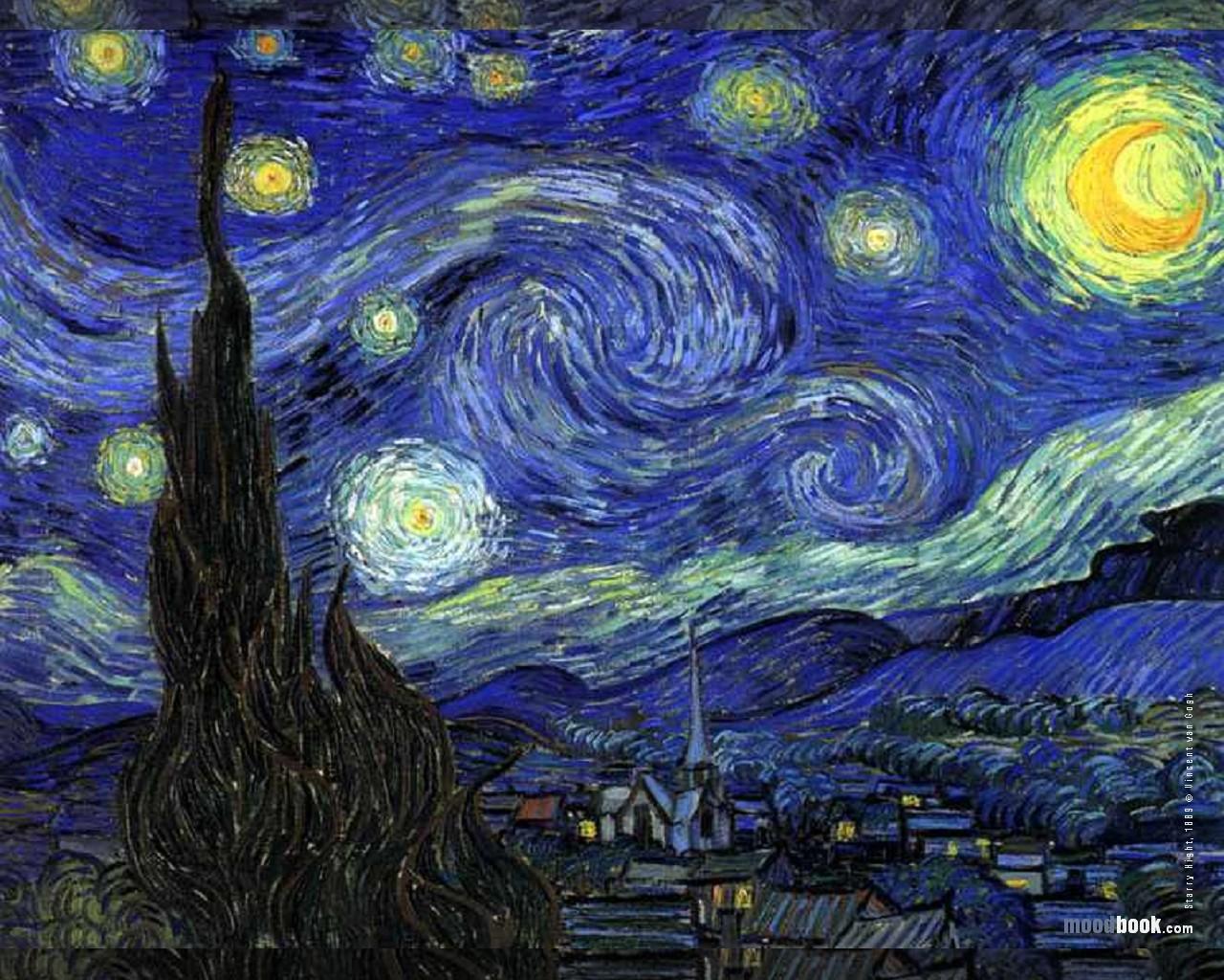 Part 1 The Proper Approach vincent van gogh wallpaper starry night 1280x1024