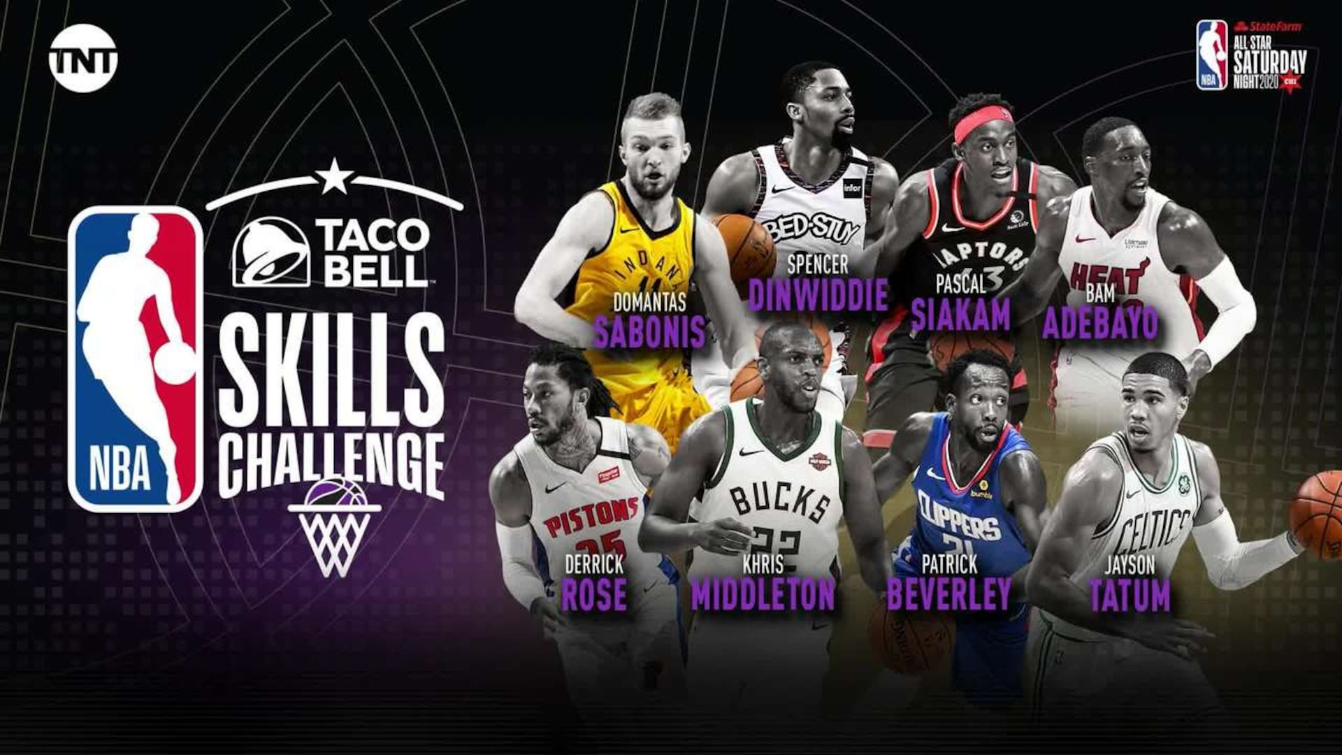 Taco Bell Skills Challenge competitors NBAcom 1920x1080