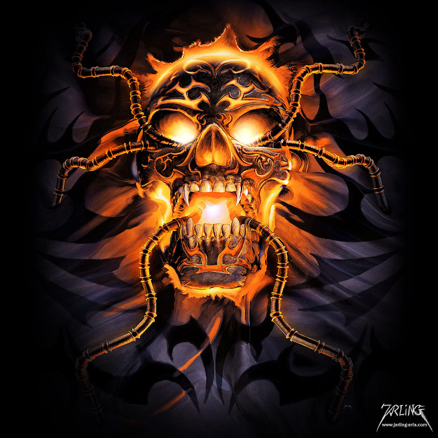 Skull And Guns Unfinished By Ifinch On Deviantart: Badass Wallpapers Of Skulls