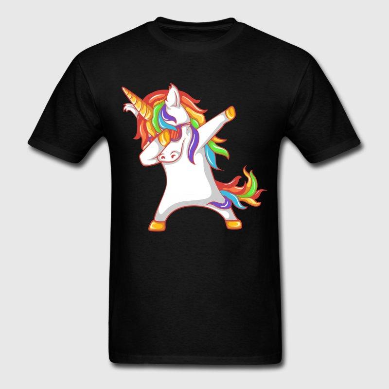 Dabbing Unicorn T Shirt Spreadshirt 800x800