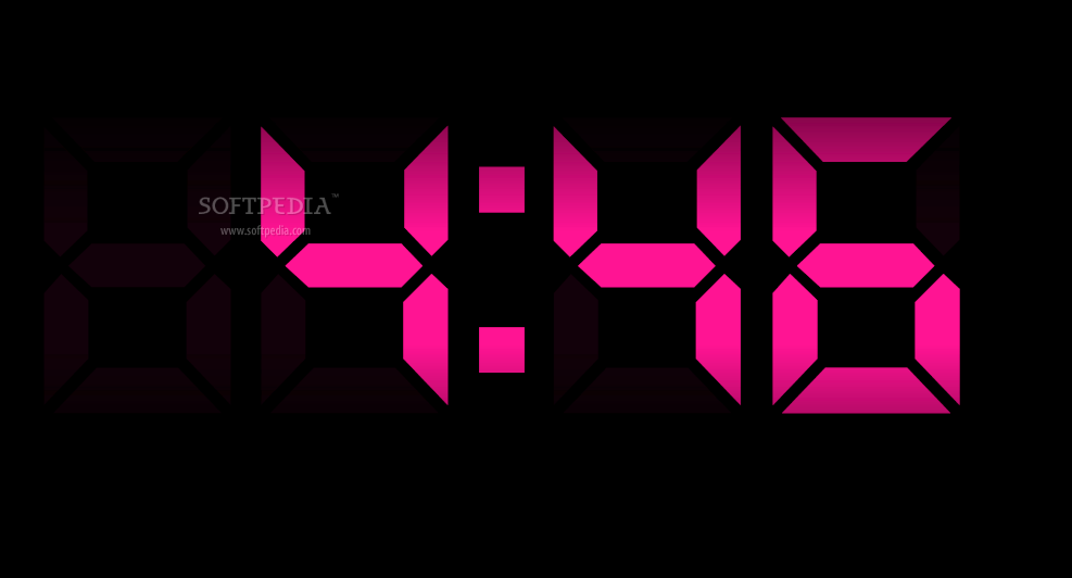 Digital Clock Screensaver   Digital Clock Screensaver is a tool that 987x532