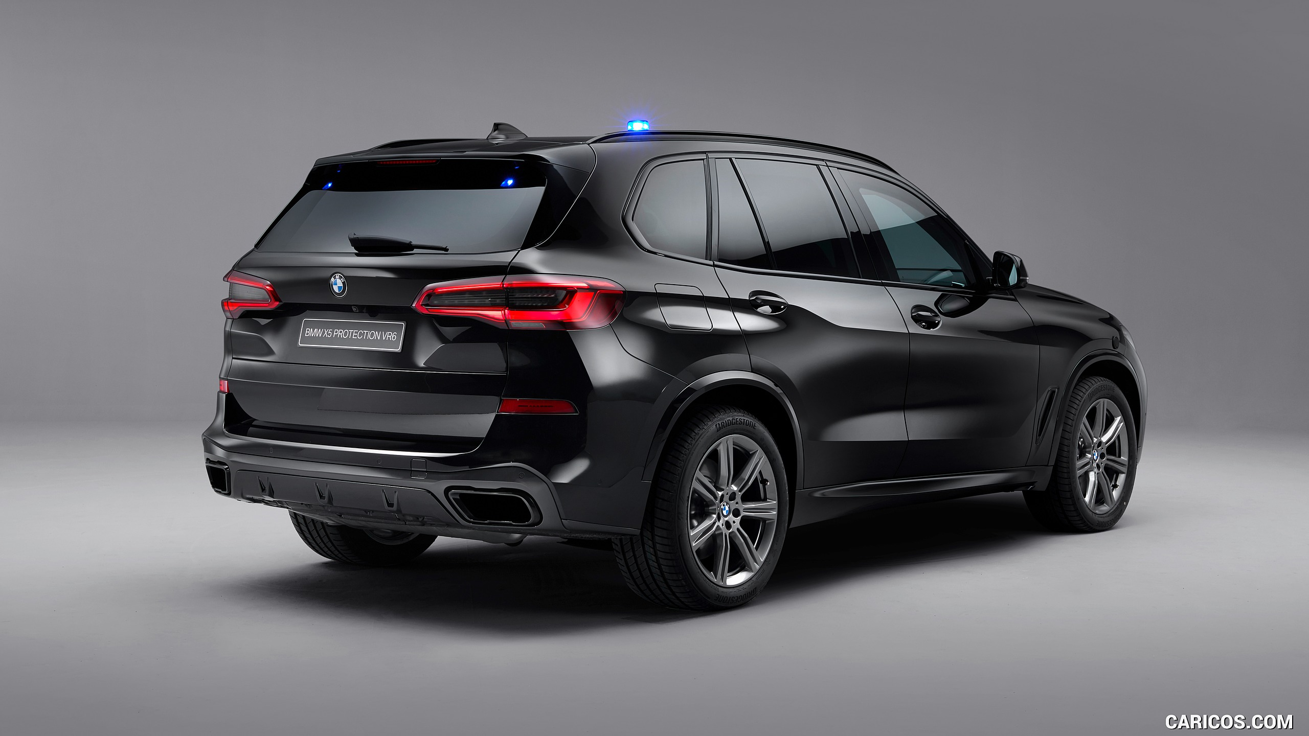 2020 BMW X5 Protection VR6 Armored Vehicle   Rear Three Quarter 2560x1440