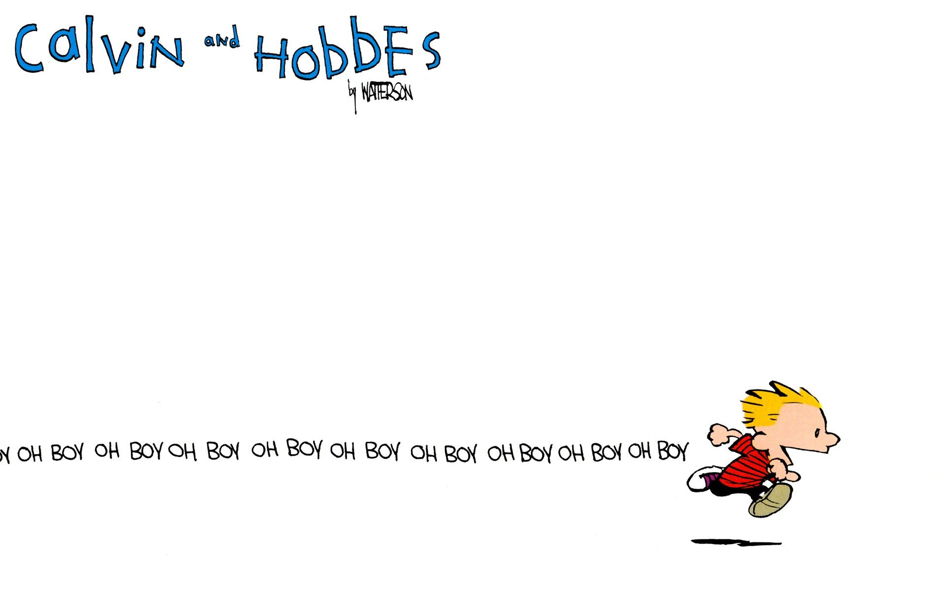 Calvin and Hobbes wallpapers because I love you all Calvin and 1920x1200