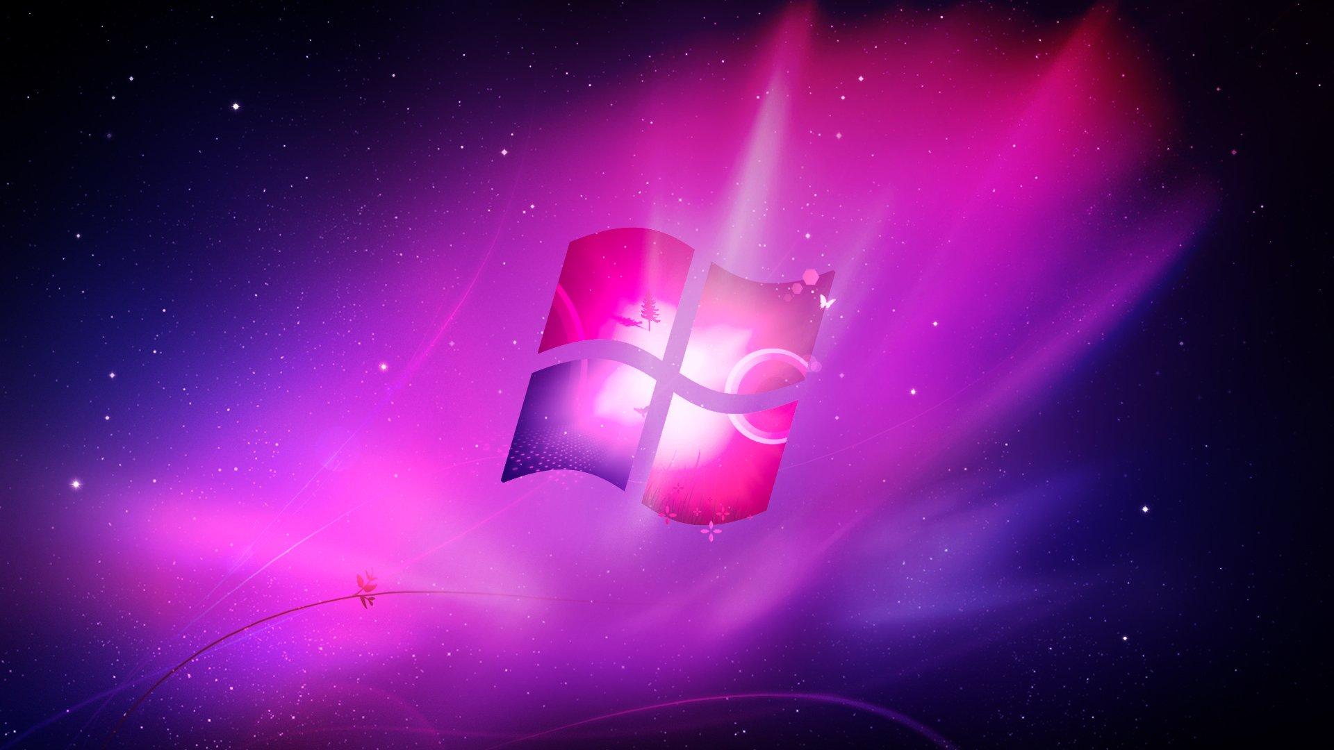 Pink Windows Wallpaper