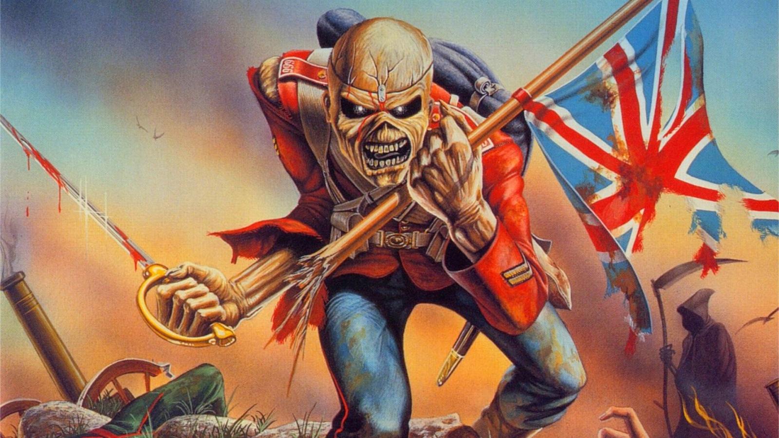 Eddie   Iron Maiden Wallpaper 39057479 1600x900
