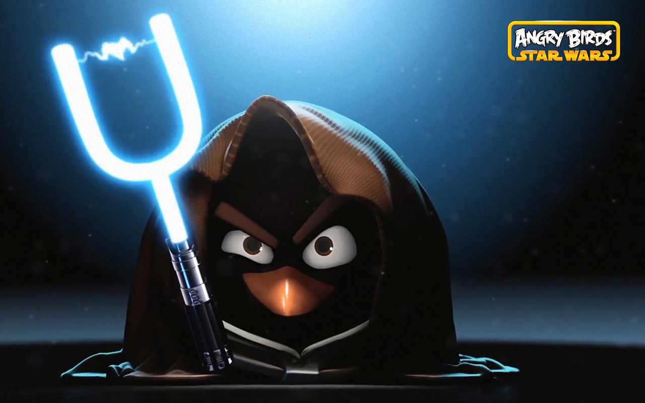 Angry Birds Star Wars Characters HD Wallpaper of Game 1280x800