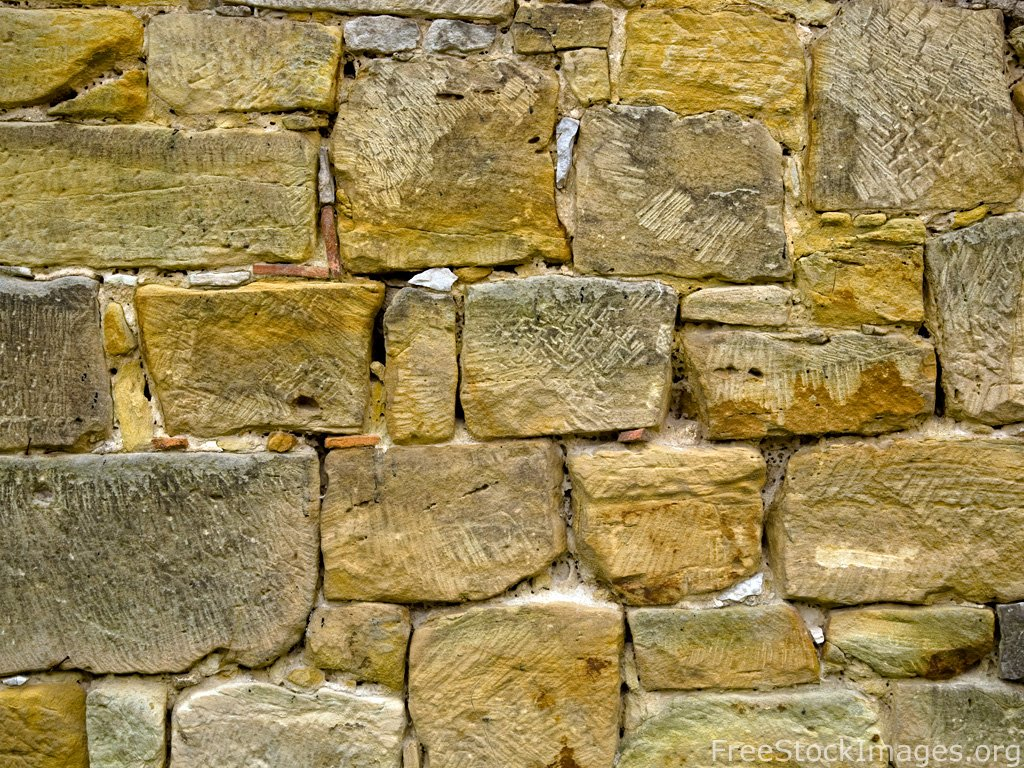 old stone wall texture 1024x768