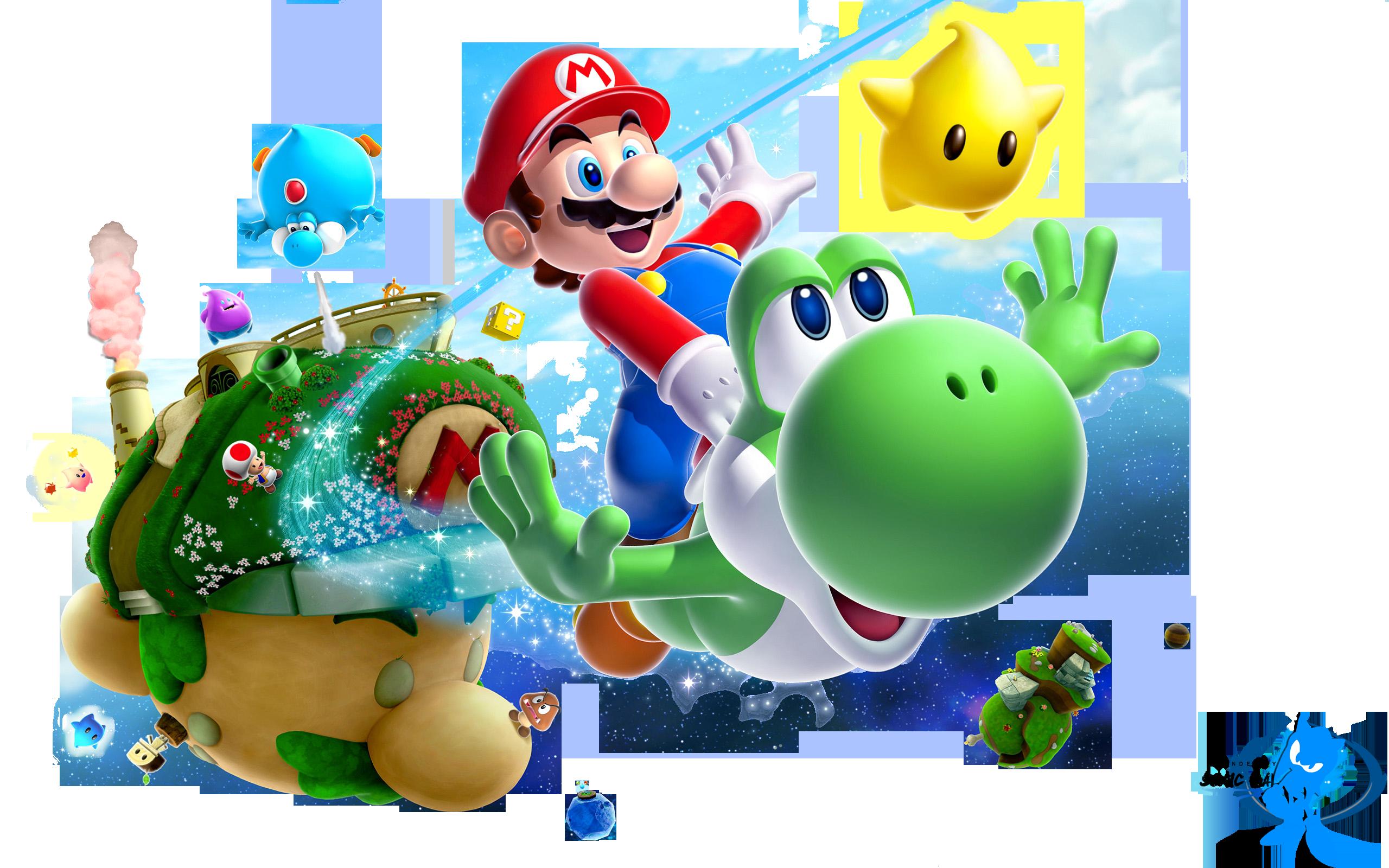 Free Download Desktop Wii Wallpapers Of Super Mario Galaxy 2 Mario