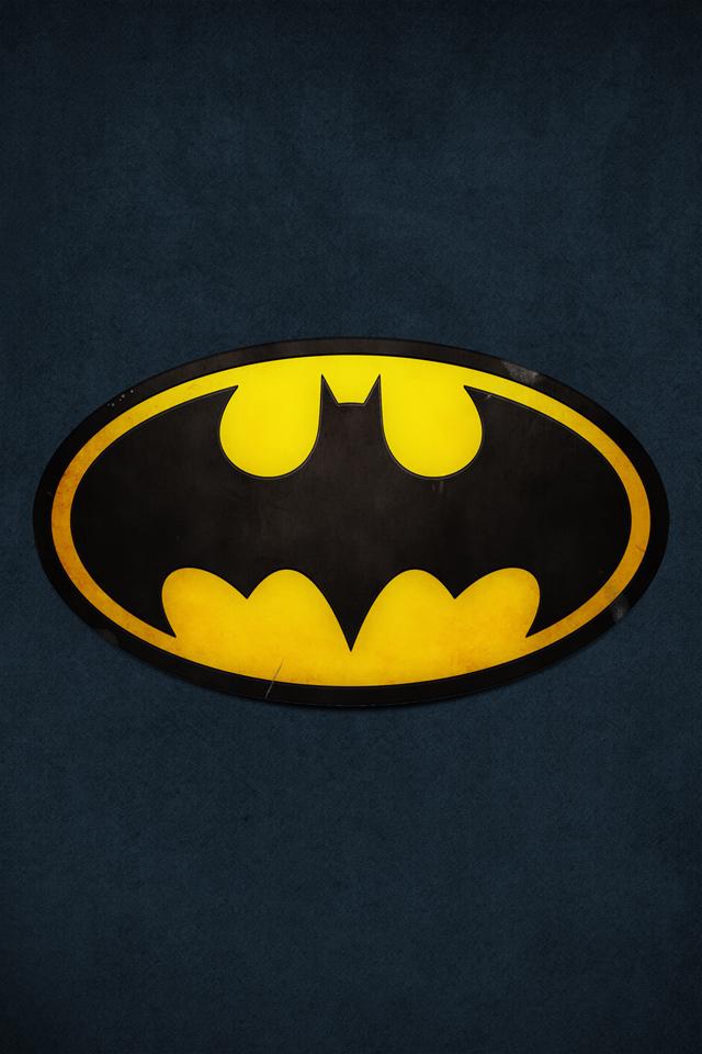 batman symbol iphone 5 wallpaper