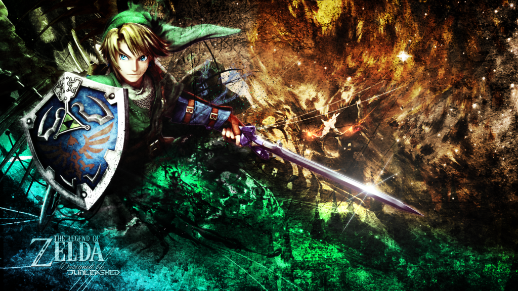 The legend Of Zelda Wallpaper by Junleashed 1024x576