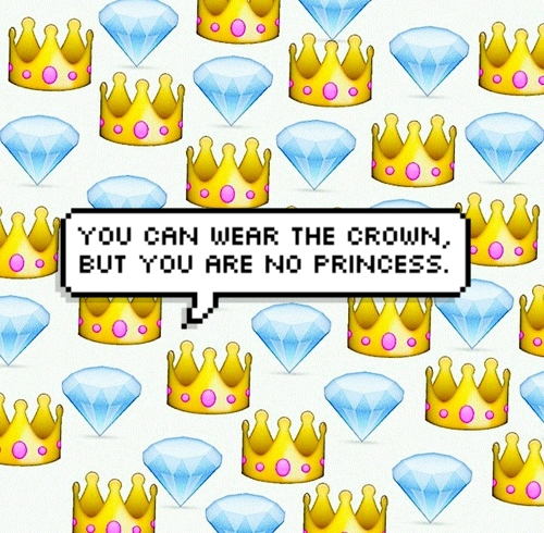princess crown emoji Tumblr 500x490