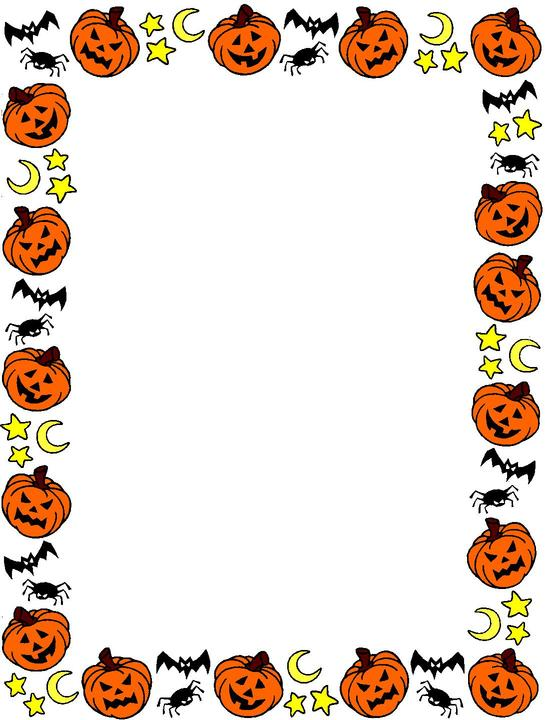 Download image Halloween Clip Art Borders Purple PC Android iPhone 545x720