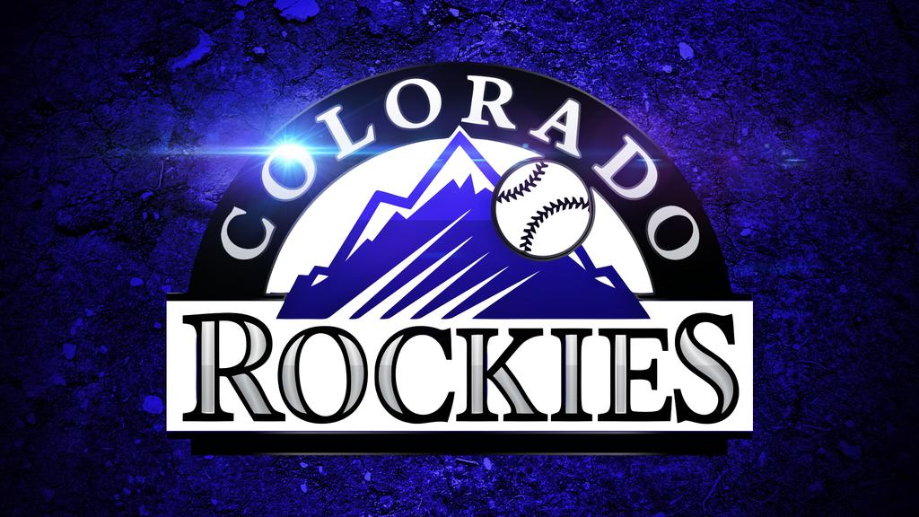 Colorado Rockies Logo Wallpaper by DenverSportsWalls 1024x576