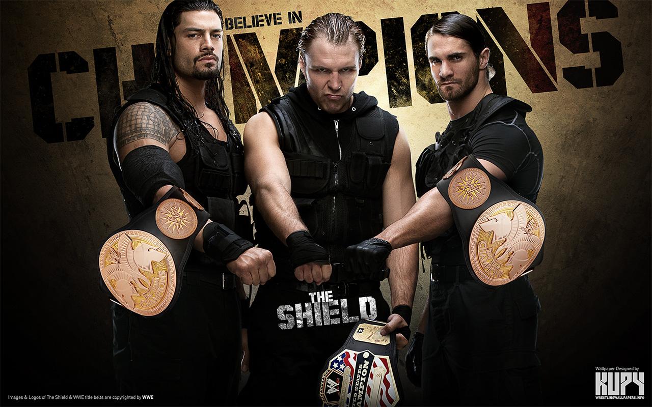Shield   Champions   The Shield WWE Wallpaper 34659039 1280x800