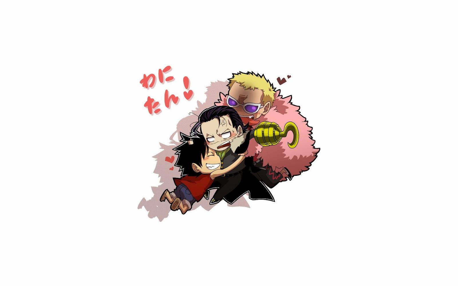 Free Download Monkey D Luffy Crocodile Doflamingo Wallpaper Hd Chibi One Piece Anime 1600x1000 For Your Desktop Mobile Tablet Explore 48 Doflamingo Wallpaper Luffy Vs Doflamingo Wallpaper One Piece