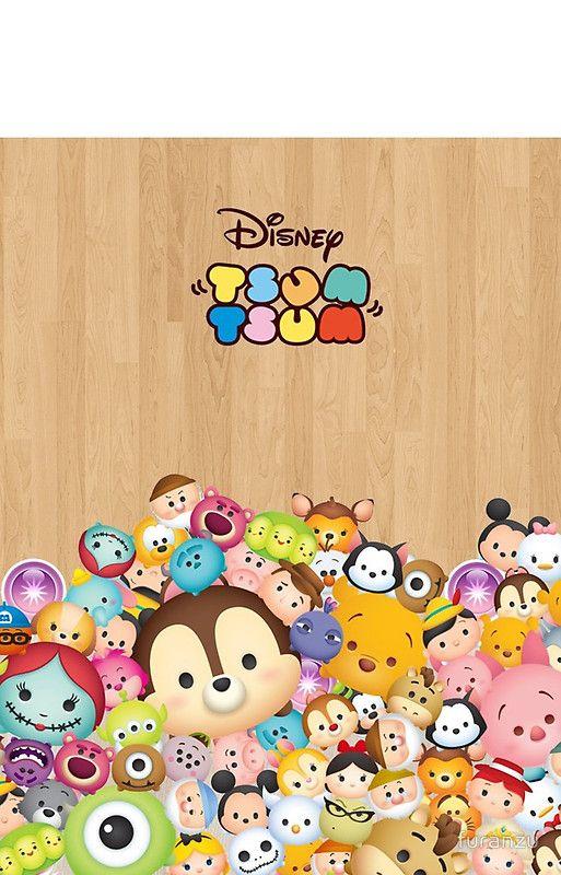 100+] Disney Tsum Tsum Wallpapers on