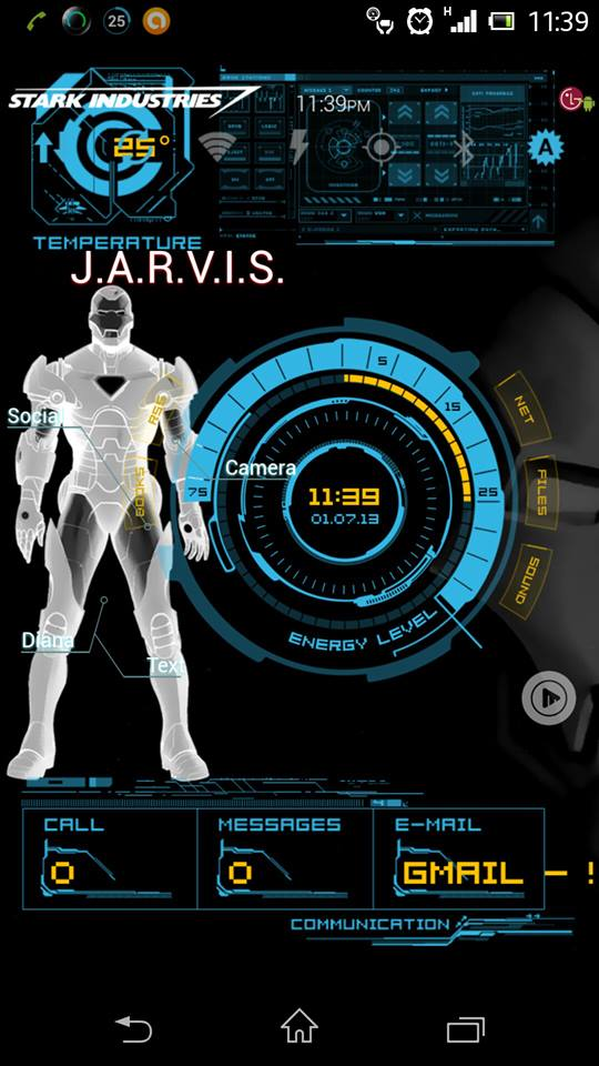 Jarvis Wallpaper Android 540x960