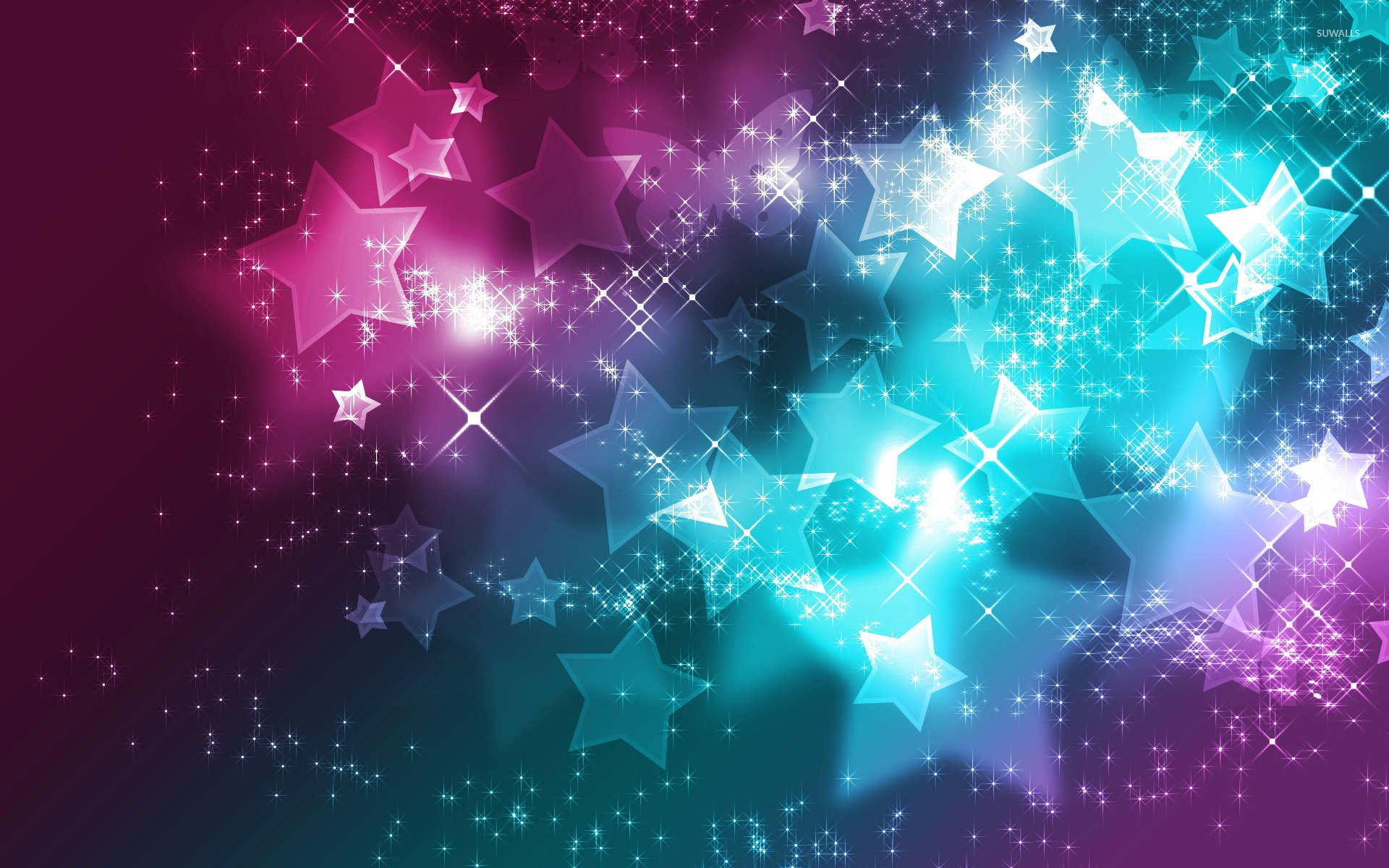 colorful star wallpaper wallpapersafari
