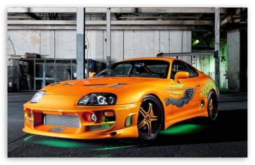 Tuned Toyota Supra HD desktop wallpaper Widescreen High Definition 510x330