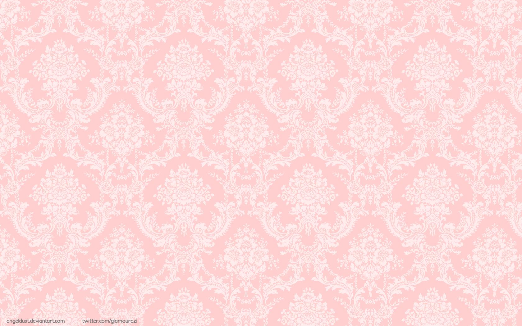 43 Light Pink Damask Wallpaper On Wallpapersafari