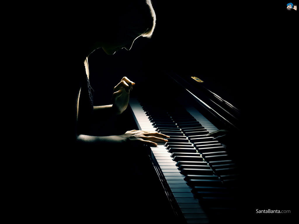 Hd Wallpapers 1080p Music: Piano And Violin Wallpaper