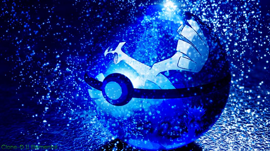 Lugia Wallpaper Lugia in a pokeball by clone d 1024x576