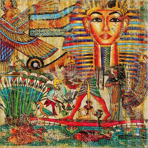 Egypt Wallpaper: Egyptian Art Wallpaper