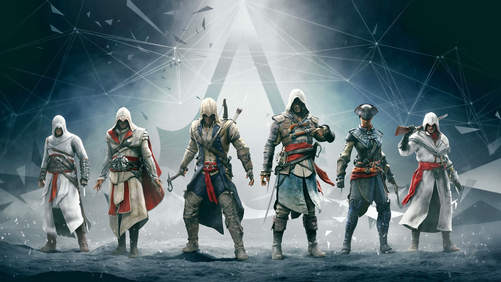Assassins Creed Altair Ezio Connor Edward Wallpapers HD Wallpapers 1920x1080
