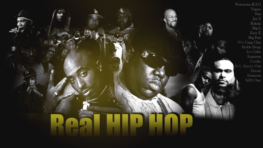 Real Hip Hop Wallpaper by kdafalcan 900x506