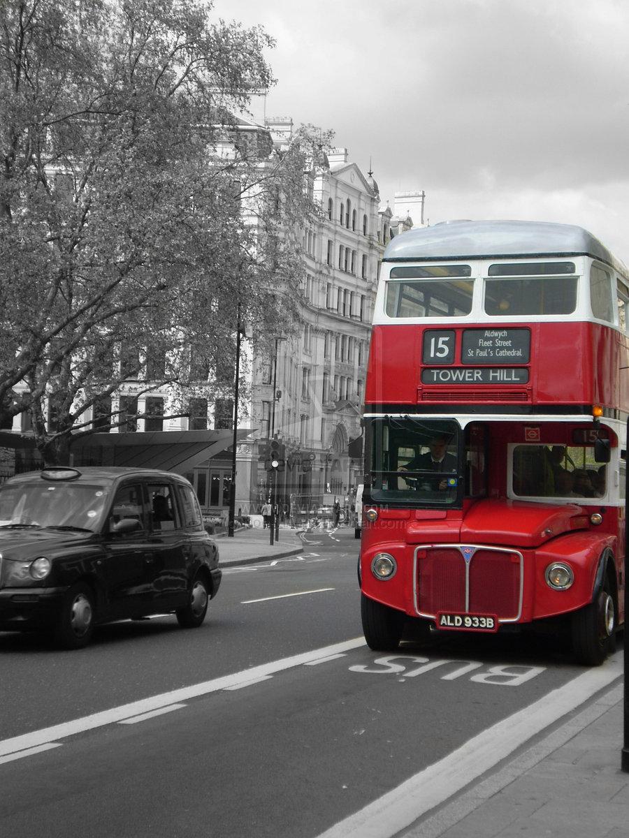 London Bus By Noe Lia M 900x1200