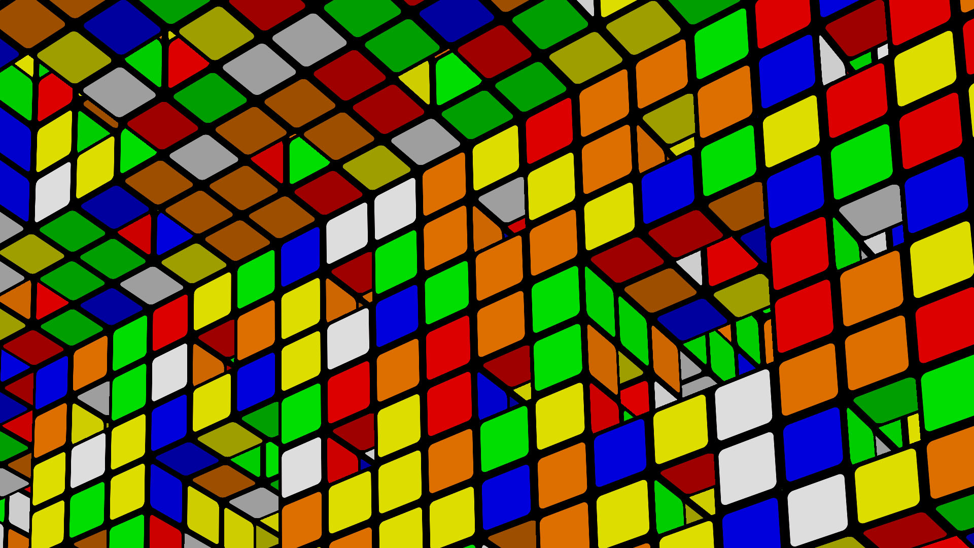 rubik s cube pattern wallpaper