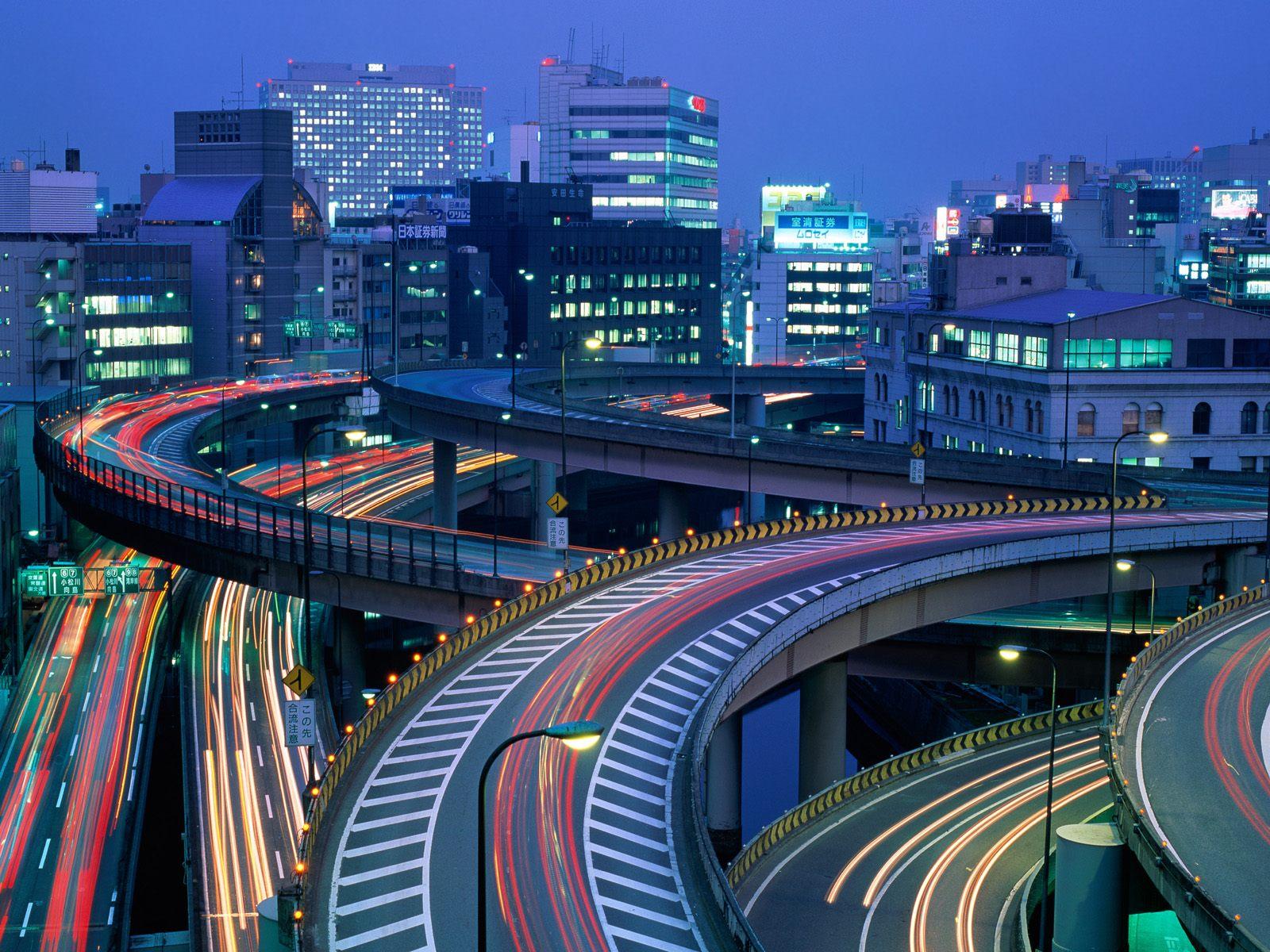 Tokyo at Night Japan 1600x1200