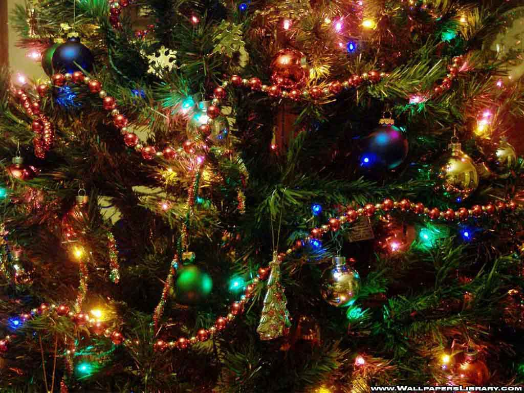 christmas tree desktop background   Desktop Wallpaper 1024x768